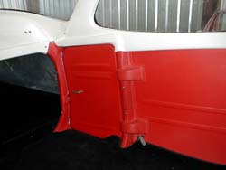 172 Left rear interior panel