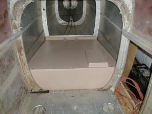 Floor for SA59-100 Fiberglass Kit.