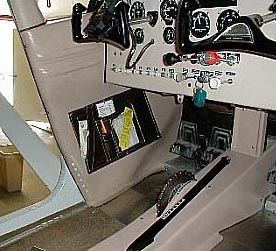 Fiberglass Interior Kit installed in Cessna 180